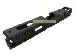 Ready Fighter LK Style Uncle Gaspacho RMR Slide for TM G18 GBB (Black)
